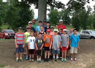 Golf Camp Graduates