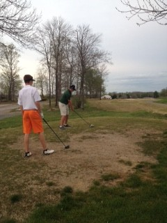 Ethan and Jake having fun working on course management