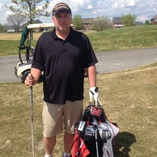 "Terry Snelling ready to shoot low scores with ""New"" Irons"