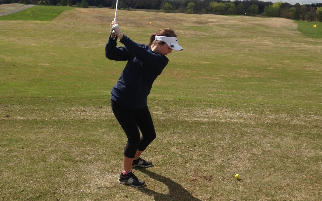 Female Junior Golf Swing Mechanics